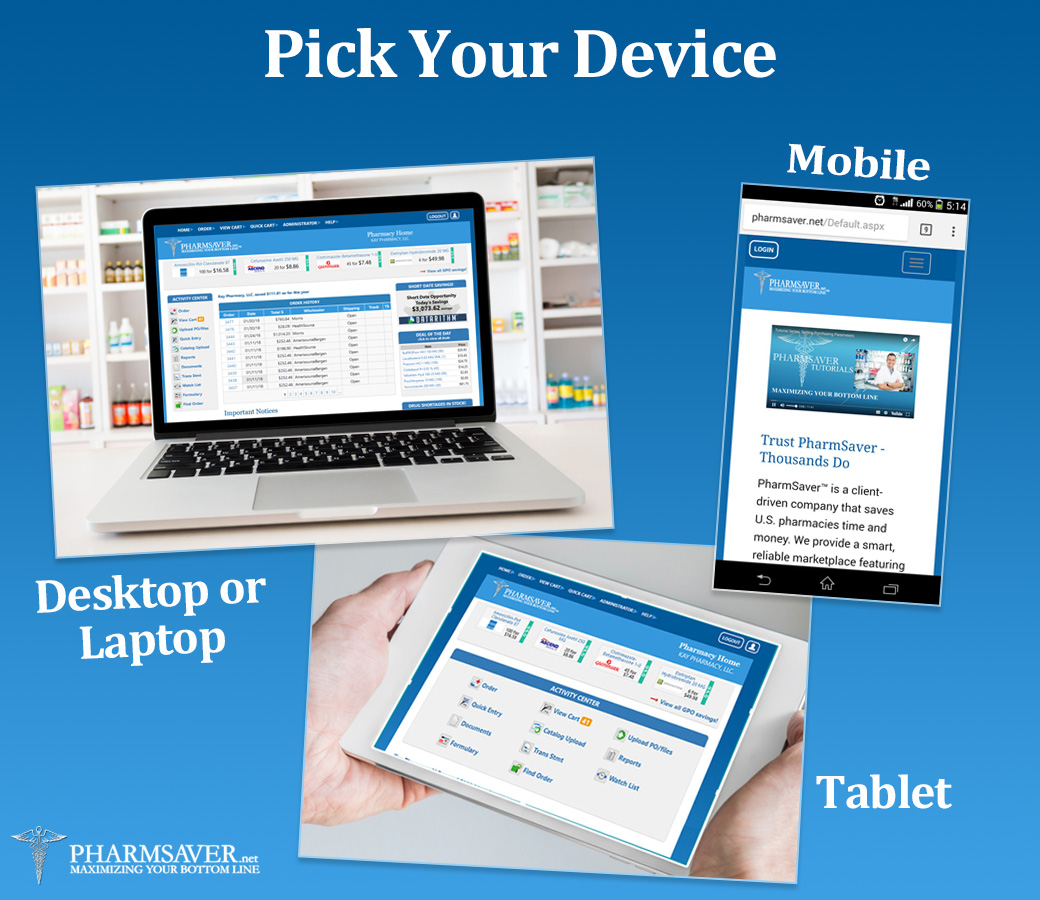PharmSaver 2018 Pick Your Device